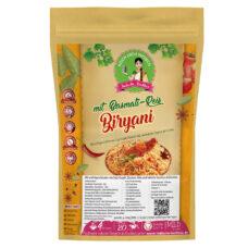 Biryani Reisgericht - Kochbox mit Soja-Kugeln Fleischersatz vegan, Basmati Reis und Gewürze