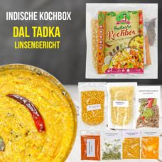 Dal Tadka - Linsengericht mit Reis - Kochbox - Indische Rezepte