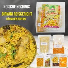 Hähnchen Biryani Reisgericht - Kochbox - Indische Rezepte