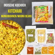 Mungobohnen Kitchari - Linsengericht mit Reis - Kochbox - Indische Rezepte
