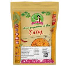 Schwarzaugenbohnen Curry - Kochbox mit Dal Hülsenfrüchte, Basmati Reis und Gewürze - Alle Zutaten inklusive - Indische Rezepte