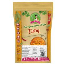 Schwarzaugenbohnen Curry - Kochbox mit Dal Hülsenfrüchte, Basmati Reis und Gewürze